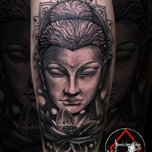 tatuaje budda capital tattoo valencia